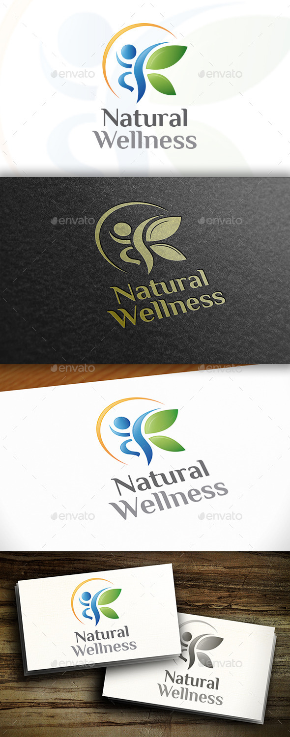 GraphicRiver Balanced People Logo 11061049
