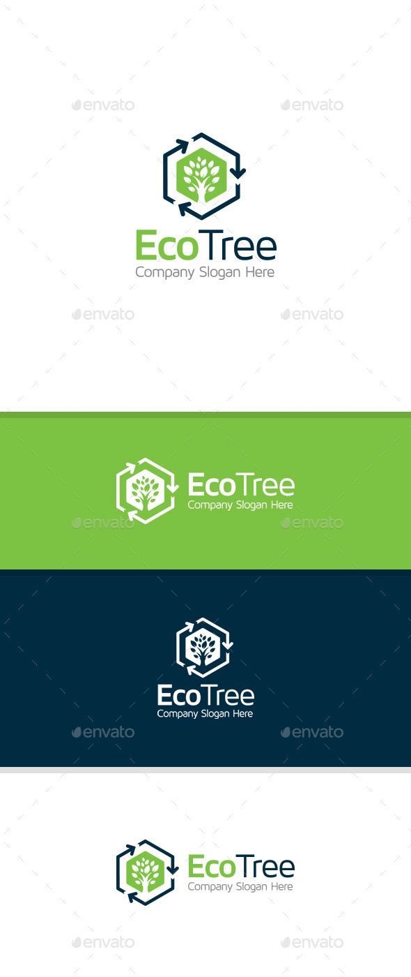 GraphicRiver Eco Tree 11061134