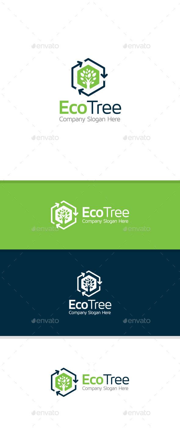 GraphicRiver Eco Tree 11061134