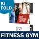 Fitness Gym Bifold / Halffold Brochure - GraphicRiver Item for Sale