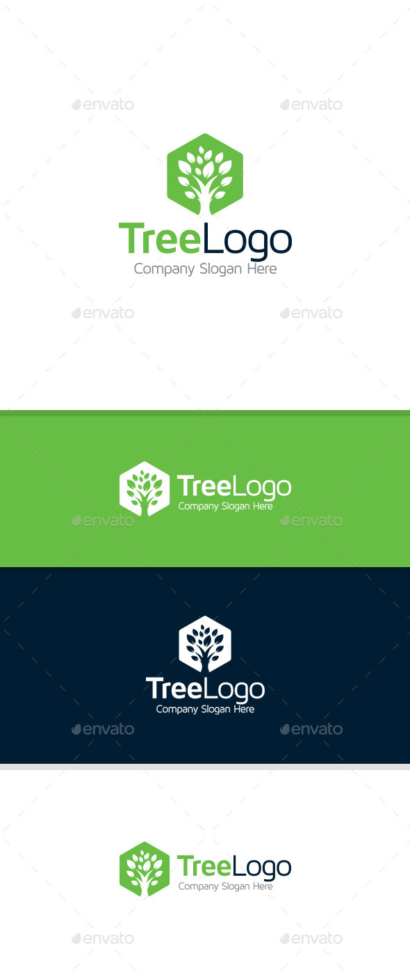 GraphicRiver Tree Logo 11061198