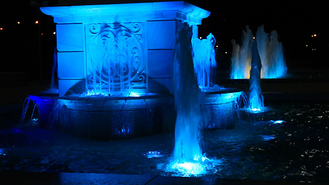 Light color Fountain