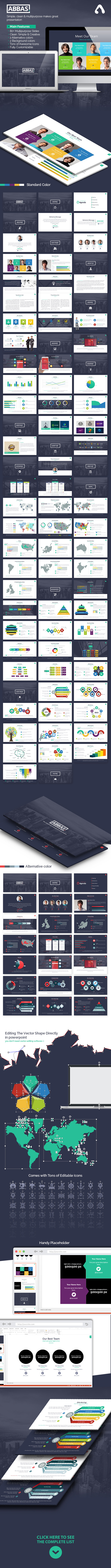 GraphicRiver Abbas Powerpoint Template 11061706