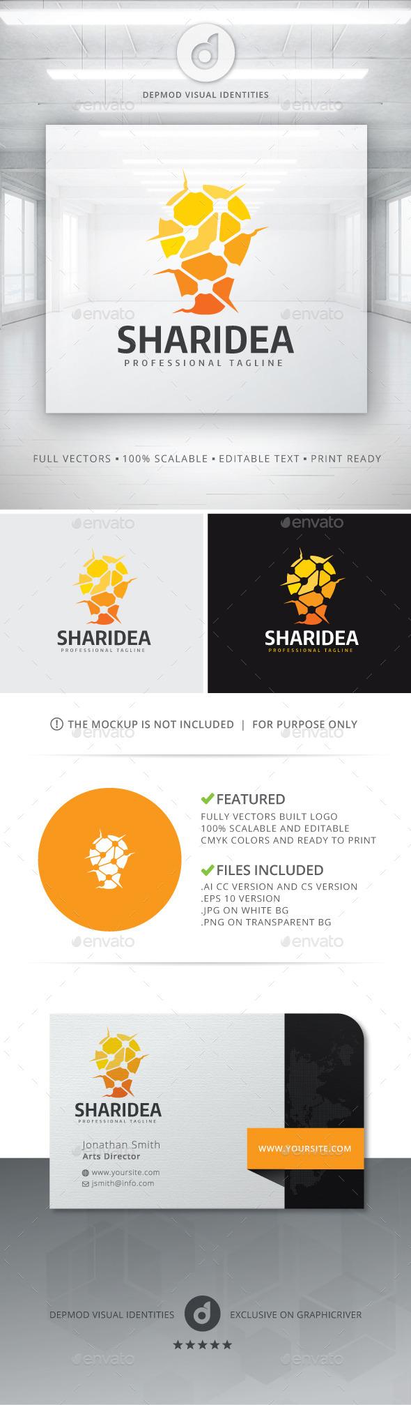 GraphicRiver Share Idea Logo 11061910