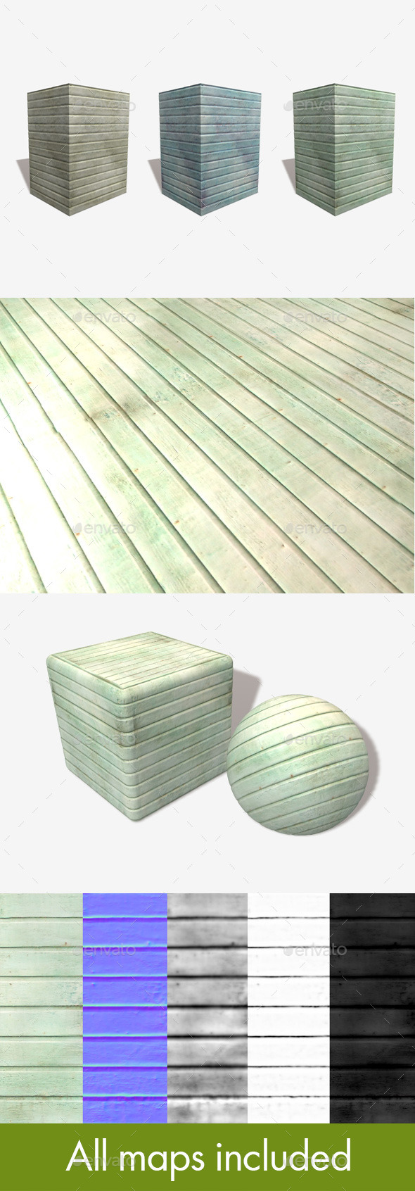 3DOcean Stained Wood Seamless Textures x3 11062027