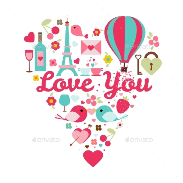 GraphicRiver Love You Color Set 11062292