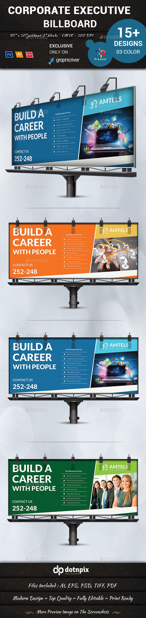 GraphicRiver Corporate Executive Billboard 11062603