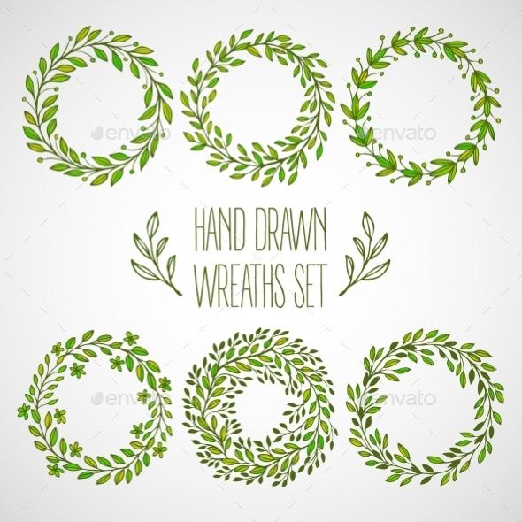 GraphicRiver Decorative Wreaths 11062682