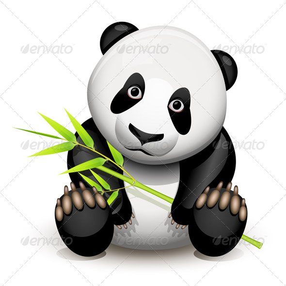 GraphicRiver Little panda 137033