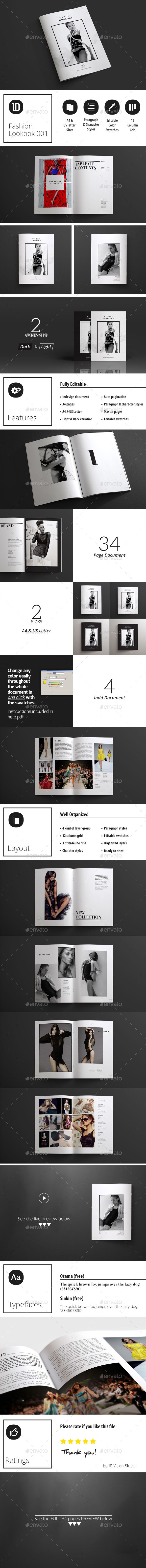 GraphicRiver Fashion Lookbook 001 11062782