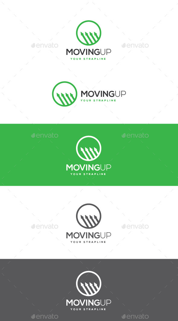 GraphicRiver Moving Up Logo 11062855
