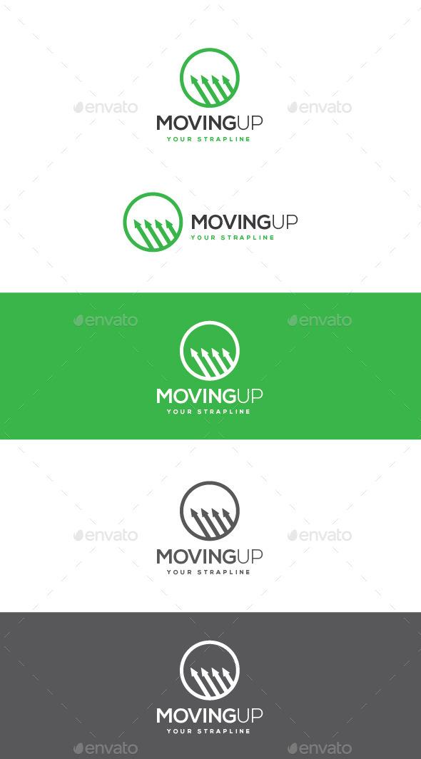 GraphicRiver Moving Up Logo 11062855