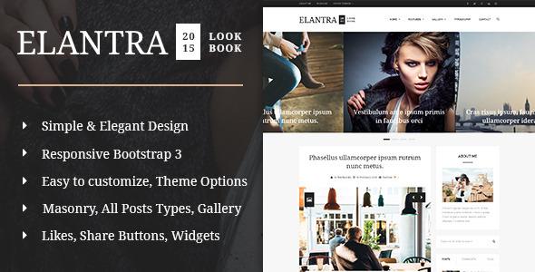 Elantra 2015 - Elegant Personal Blogging Theme