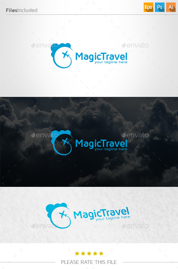 GraphicRiver Travel Logo 11062982
