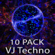 VJ Abstract Techno Energy Dance - 10 Pack - VideoHive Item for Sale