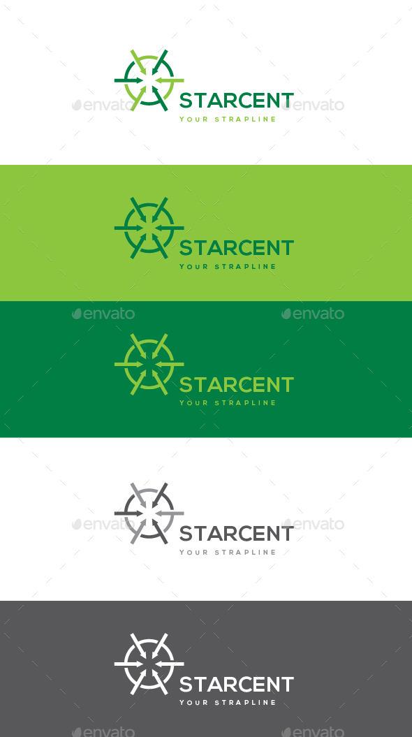 GraphicRiver Starcent Logo 11063143