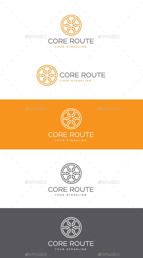 GraphicRiver Core Route Logo 11063153