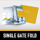 Modern Project Gate Fold Flyer - GraphicRiver Item for Sale