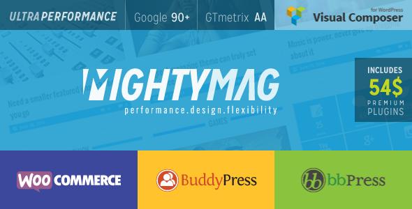 MightyMag - Magazine, Shop, Community WP Theme - News / Editorial Blog / Magazine