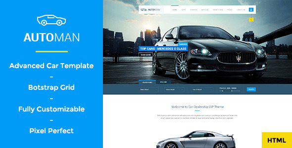 ThemeForest Automan Advanced Car Dealer HTML Template 11063849