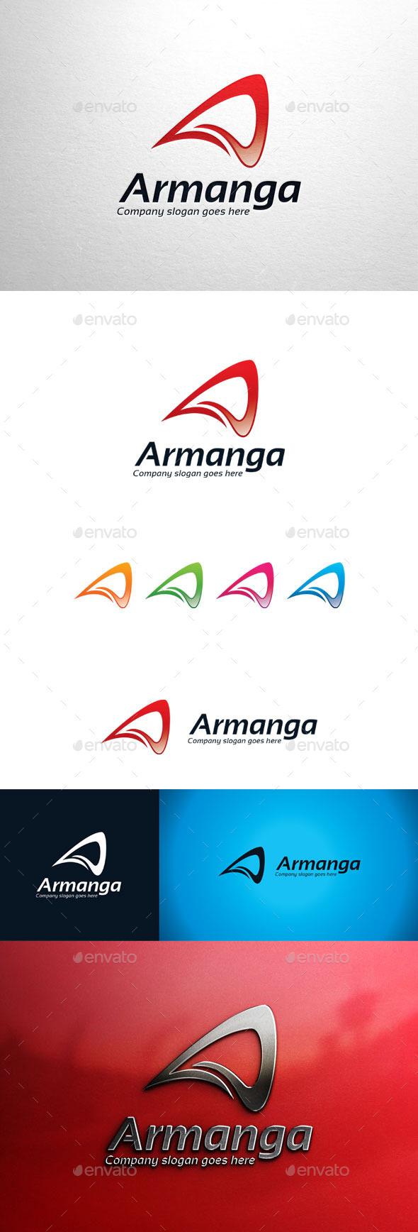 GraphicRiver Armanga Letter A Logo 11063957