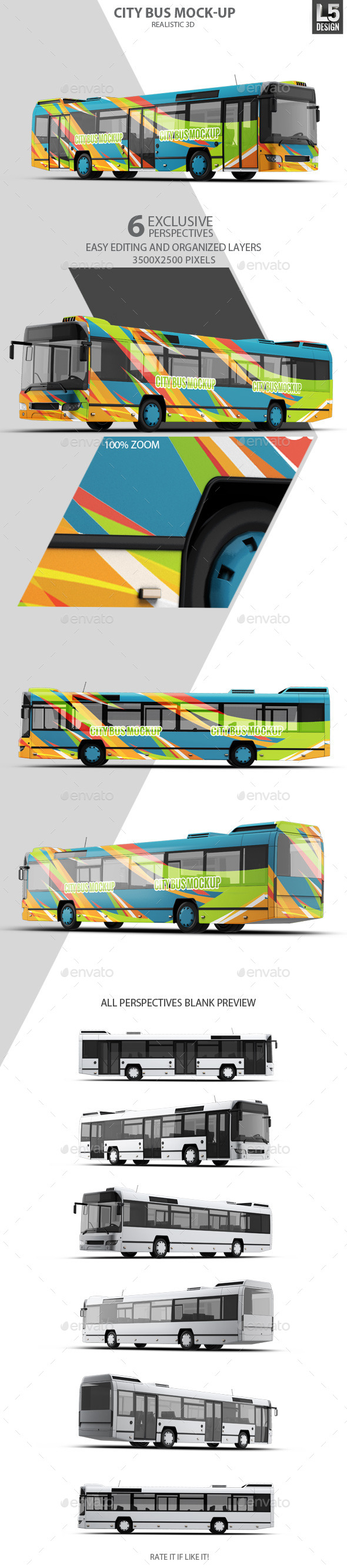 GraphicRiver City Bus Mock-Up 11064017