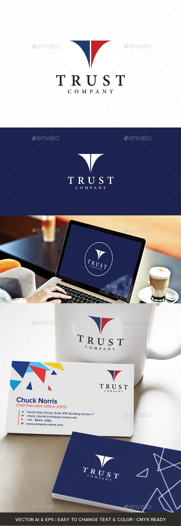 GraphicRiver Investment Company Logo 11064117