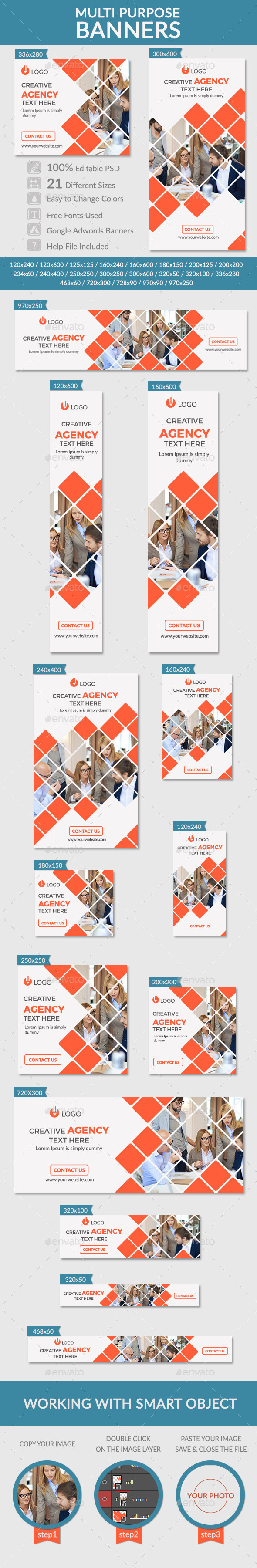 GraphicRiver Multi Purpose Banners 11064187