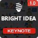 Bright Idea Keynote Presentation Template - GraphicRiver Item for Sale