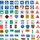 Hundred traffic signs - PhotoDune Item for Sale