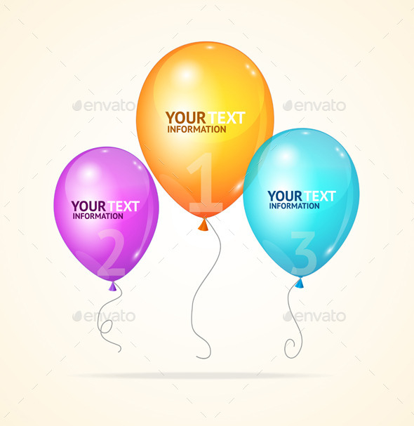 GraphicRiver Balloons 11065499