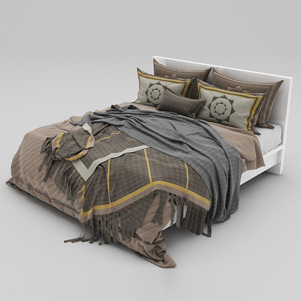 Bed 40 - 3DOcean Item for Sale