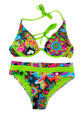 Multicolored, green separate swimsuit. - PhotoDune Item for Sale