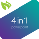 4 in 1 Business PowerPoint Bundle - GraphicRiver Item for Sale