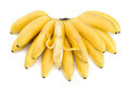Bunch of bananas with open one - PhotoDune Item for Sale