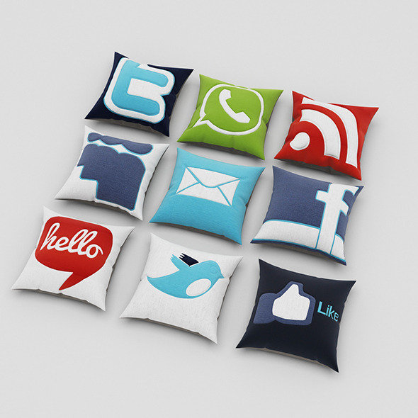 3DOcean Pillows 59 11065711
