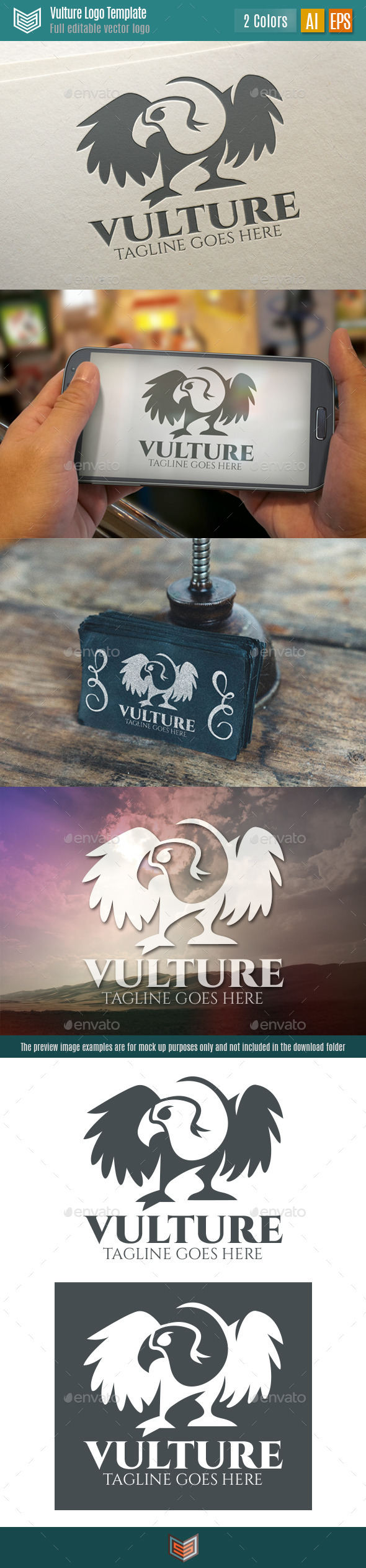 GraphicRiver Vulture Logo 11066901
