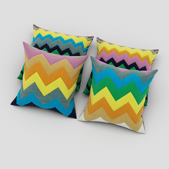 3DOcean Pillows 63 11066932