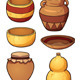 Prehistoric Containers - GraphicRiver Item for Sale
