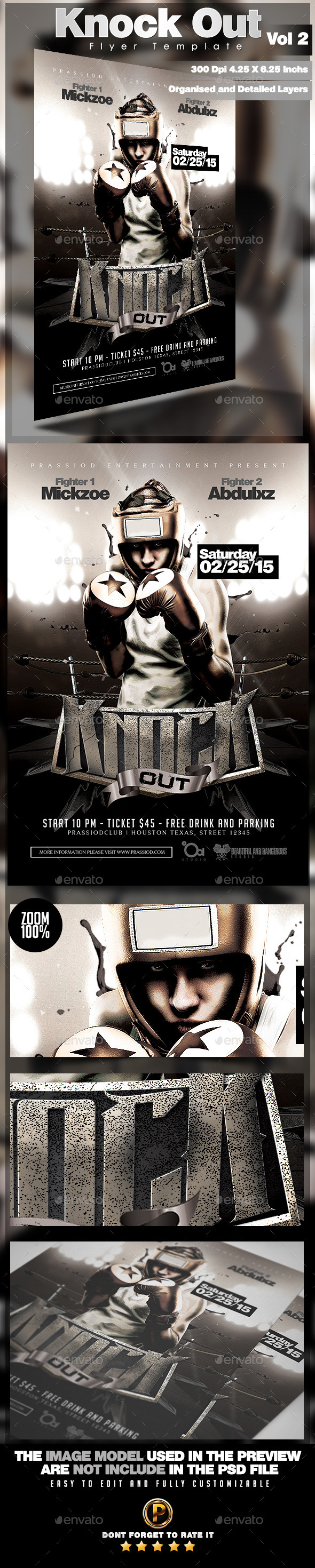 GraphicRiver Knock Out Flyer Template Vol 2 11067406
