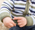 Little boy touching red bug - PhotoDune Item for Sale
