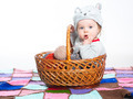 Child in basket - PhotoDune Item for Sale