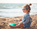 Little girl on the beach - PhotoDune Item for Sale