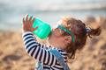 Little girl on the beach - PhotoDune Item for Sale