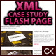 Customizable XML Case Study Flash Page - ActiveDen Item for Sale