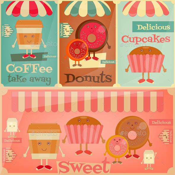 GraphicRiver Cafe Sweet Shop 11067805