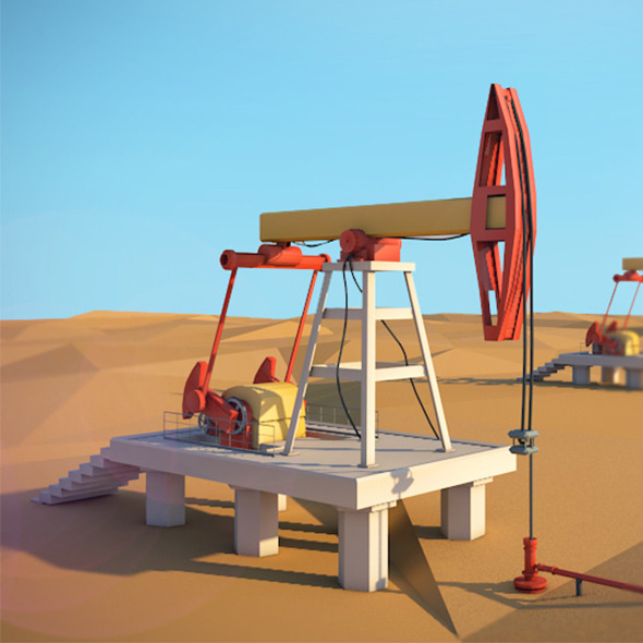 3DOcean Oil tower 11067806