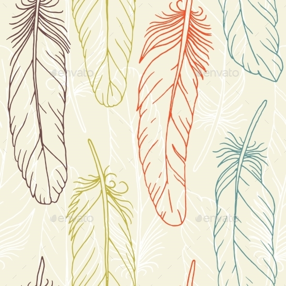 GraphicRiver Feathers 11067935