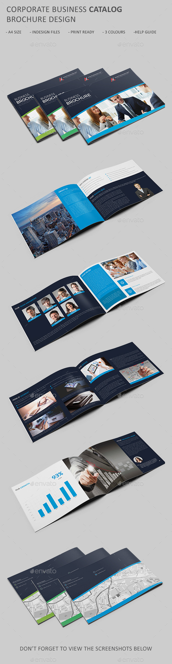 GraphicRiver Corporate Business Catalog Brochure 11067961