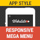 Web Slide - Responsive Mega Menu for Bootstrap 3+ - CodeCanyon Item for Sale